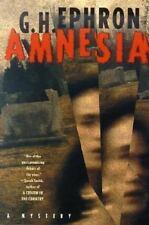 Amnesia (Peter Zaks Mysteries) by Ephron, G. H.
