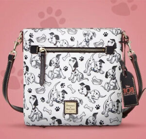2021 Disney Parks Dooney & Bourke 101 Dalmatians Crossbody Bag Purse New