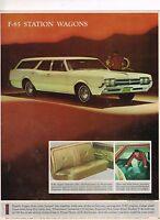 1963 Oldsmobile Starfishes Entire F-85 Cutlass 88 98 F-85 Wagons Sales Brochure