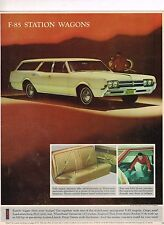 1966 Oldsmobile F-85 STATION WAGON Photo (from brochure) excerpt