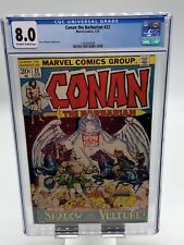 Conan the Barbarian #22 CGC 8.0 OW/WP Marvel Comics (1973)
