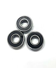 6202RS Premium Rubber Sealed Ball Bearing, 15x35x11, 6202RS (2 QTY)