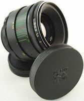 ⭐SERVICED⭐ HELIOS 44-2 58mm f/2 Lens M42 + Adapt. Sony Alpha AF Mount Camera