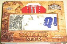 2016 Leaf Lumber Kings Jumbo Game Used Stick Mike Gartner 2/12