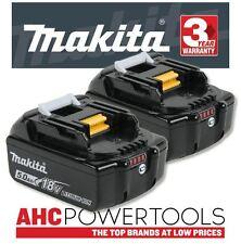 Makita BL1850B 18v 5.0Ah Li-ion LXT Battery Pack of 2