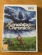 Xenoblade Chronicles game (Nintendo Wii)