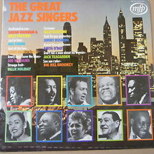 LP THE GREAT JAZZ SINGERS mfp 5233 stereo