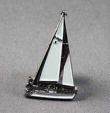 Metal Enamel Pin Badge Brooch Yacht Sail Sailor Marine Captain Boat Sea Ocean