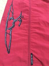 QUIKSILVER EDDIE AIKAU WOULD GO VINTAGE MID 1990's RARE 42 RED BOARD SHORTS
