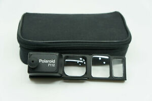 Polaroid Spectra / Image Camera F112 Close-Up lens Adaptor with Case