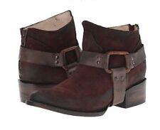 NEW$275 Freebird by Steven Phlow Phoenix Low Boots Wine Suede Boot Women's 6 US