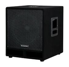 """B-WARE DJ PA Subwoofer Disco Bass Party Box 38cm (15"""") Woofer Bass-Reflex 1200W"""