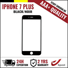 AAA+ FRONT GLASS/FRONT GLAS/VERRE AVANT BLACK FOR IPHONE 7 PLUS