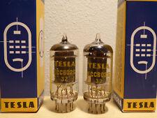 2x (PAIR!) TESLA ECC802S (12AU7WA, CV491) Original, NOS, 1966, 100%, Telefunken.