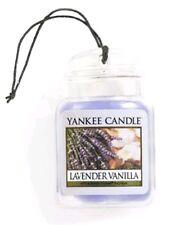 Yankee Candle Lavender Vanilla Ultimate Car Jar Air Freshener FREE P&P