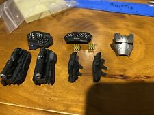 Hot Toys WAR MACHINE MARK IV 1/6TH SCALE MMS499 D26 Weapon Parts & Faceplate