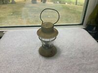Vintage Victory Glass, Inc. Jeannette, PA Lantern Candy Pellet Container