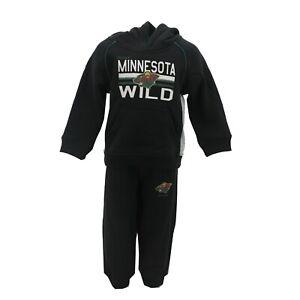 Minnesota Wild NHL Reebok Infant Toddler Size Hooded Sweatshirt & Pants Set New