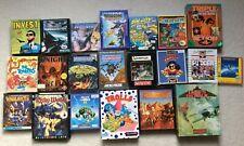 ++ 21x AMIGA 500 1000 2000 GAMES ++ 90'er vintage Game Konvolut Spiele Sammlung