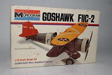 Monogram U.S. Navy Goshawk FIIC-2, 1:72 SCALE, BOXED
