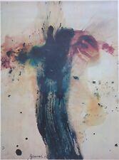 Peter Upward, Surry Hills Green,  Rare Australian Art Print from 1970.  Large.