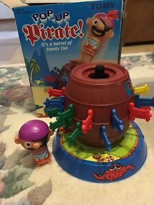 Tomy Pop Up Pirates Family/Party Game Kids/Child Fun Pirate Action Toys 5y+