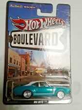 hot wheels 68 olds 442 boulevard  big hits