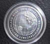 10 EURO Münze Deutschland BRD FIFA Weltmeisterschaft Silber coin 2006 Fussball