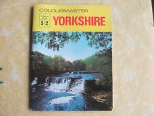 Colourmaster Tourist Guide - 52. Yorkshire. 1960's UK P&P inc
