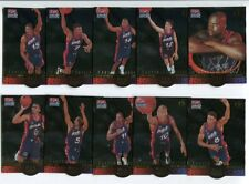 1996 Upper Deck USA Career Statistics Set cartes NBA