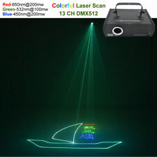 500mW RGB Beam Animation Laser Program DMX Projector DJ Party Stage Lighting