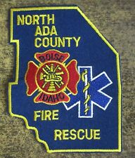 BOISE, NORTH ADA COUNTY FIRE DEPT IDAHO FIRE/RESCUE DEPARTMENT PATCH!