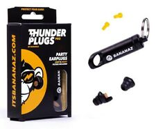 More details for thunderplugs pro -28db or -20db (extra filter inc) ear plugs / protection
