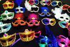 10 MASKS Mardi Gras Masquerade Wedding, Party, Event, Wholesale Lot 😌😜😍😃💜