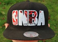 CHICAGO BULLS NBA Mitchell & Ness SNAPBACK HAT, Cap - Black w/ Windy City NEW
