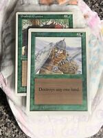 Magic The Gathering ICE STORM Unlimited edition MTG 1993 card Diaper Fresh