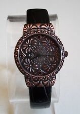 Antique look Designer style leather band fashion women's watches