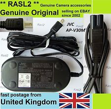 Genuine Original JVC AC POWER Adapter AP-V30m GZ HM 570 750 HD 620 520 550 960