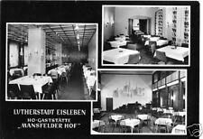 AK, Lutherstadt Eisleben, HOG Mannsfelder Hof, 1965