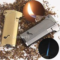 Jobon Metal Jet Double Flame Cigarette Cigar Smoking Pipe Butane Gas Lighter