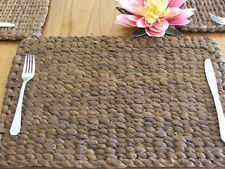 Hand Made Water Hyacinth Placemats