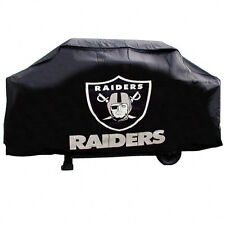OAKLAND RAIDERS ECONOMY BARBEQUE BBQ GRILL COVER NFL FOOTBALL
