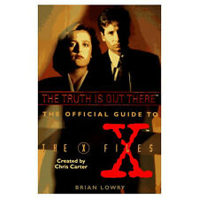 Official GUIDE TO THE X-FILES The Truth is Out There (1995, Brian Lowry) NEW