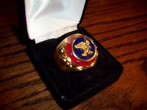 American Eagle Ring -Mens Size 9.5- Franklin Mint -New