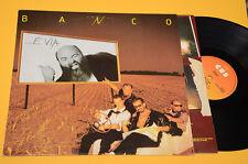 BANCO LP E VIA 1°ST ORIG ITALY PROG 1985 EX ! CON INNER TESTI