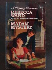 Madam Mystery by Rebecca Ward (1992) - Regency Romance PB