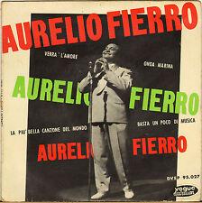 """AURELIO FERRIO """"BASTA UN POCO DI MUSICA"""" 50'S EP VOGUE 95.027"""
