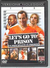 LET'S GO TO PRISON - UN PRINCIPIANTE IN PRIGIONE - DVD (USATO EX RENTAL)