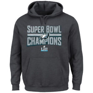 Philadelphia Eagles NFL Super Bowl LII Champions Sudden Impact Hoodie X-Large