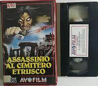 Assassinio al cimitero etrusco - (Plummer) - VHS ex noleggio - Avofilm